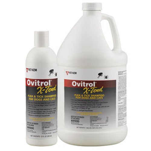 Ovitrol X-Tend Flea & Tick Shampoo (1 Gallon)