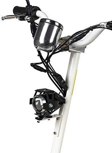 El patinete ecoxtrem viene con un montón de accesorios