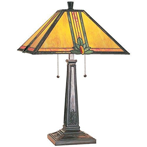 Lite Source LS-3212 Maple Table Lamp (Orange Lamp Standard)