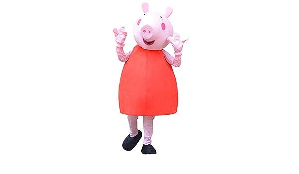 Happy Shop1 Peppa Pig - Disfraz de Halloween para Adultos, Disfraz ...