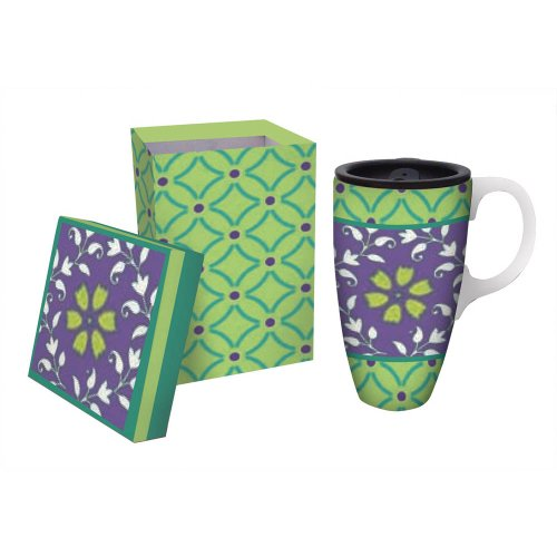 Lille Pastel Colored Boxed Travel Coffee Mug
