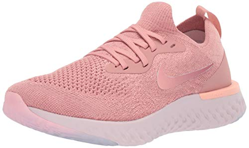 Nike Women's WMNS Epic React Flyknit, Rust Pink/Pink Tint, 7.5 US