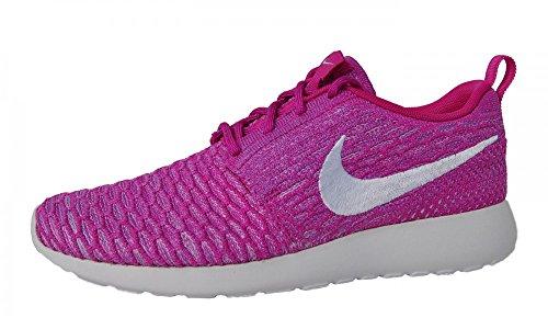 Purple Flyknit Damen Roshe Laufschuhe Nike UxF1qnRfZ