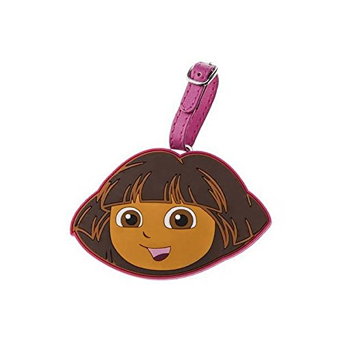 Explorer Luggage Tag (Dora the Explorer Face Silicone Luggage Tag)