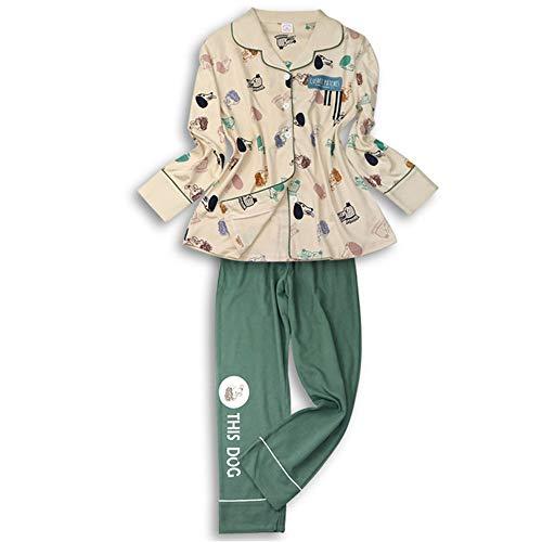 Vestito Top Homewear Notte Biancheria Pantaloni Pigiameria M Pigiama Imposta Animale Donna Nighty Sonno Vestire Confortevole Da Signora Moda Pigiama Mmllse 4T1xwT