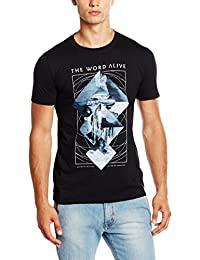 The Word Alive T Shirt Conviction band logo new Official Mens Black