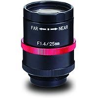Kowa LM25JCM-V 2/3 25mm F1.4/F4/F8/F16 C-Mount Lens, 2 Megapixel Rated, Ruggedized