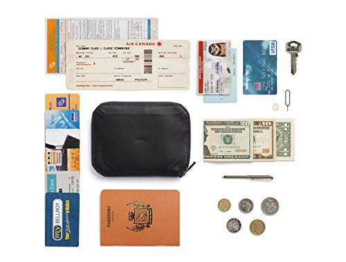 Bellroy Leather Elements Travel Black by Bellroy (Image #7)
