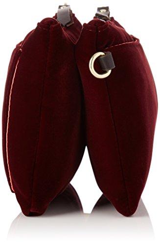 Bensimon Minibag - Borse a tracolla Donna, Violet (Velours Prune), 1.5x16x23 cm (W x H L)