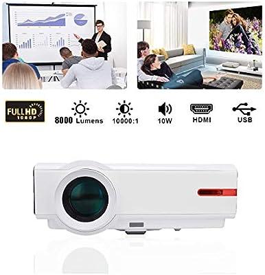 Ai LIFE Proyector de Cine en casa LED Full HD Proyector 3D 1080P ...