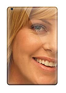 Flexible Tpu Back Case Cover For Ipad Mini/mini 2 - Charlize Theron 48