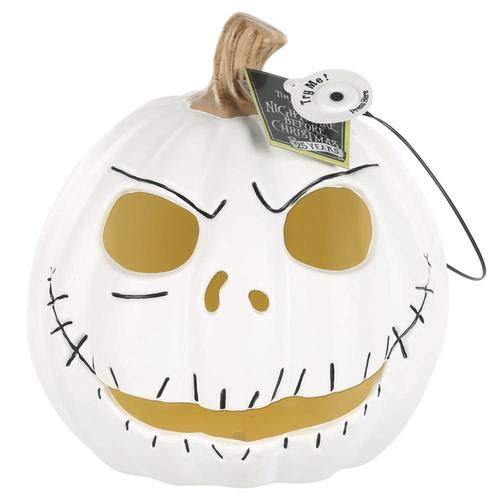 The Nightmare Before Christmas Jack Skellington Halloween Light Up Pumpkin 10
