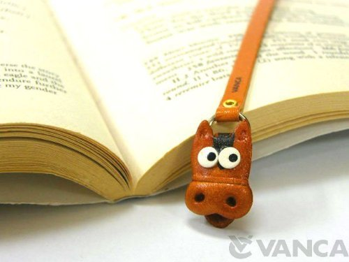 Price comparison product image Horse made by real leather BOOKMARKS (japan import)