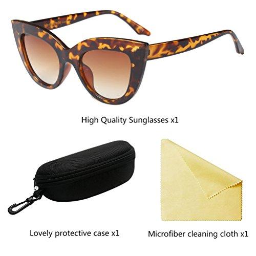 UV400 Protection Lunettes Unisexe Soleil Brown Rétro Hommes Style5 Femmes Zhuhaitf De Ombres Vintage De PUzq6xH