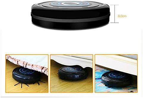 QMMCK Aspirateur sans Aspirateur sans Sac 19w diamètre capacité de forte puissance 28cm 300ml contrôle intelligent 2000mAH