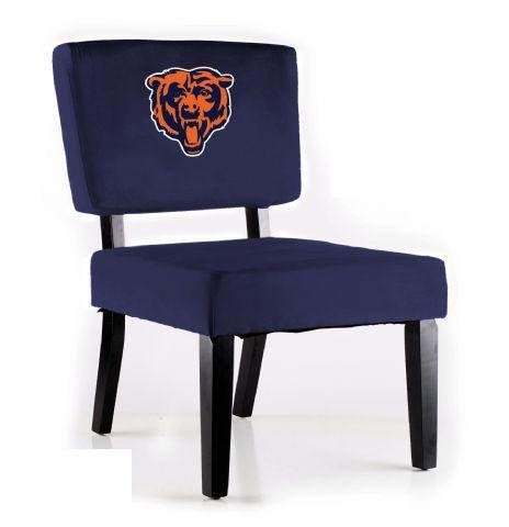 NFL Side Chair NFL Team: Chicago Bears by Imperial