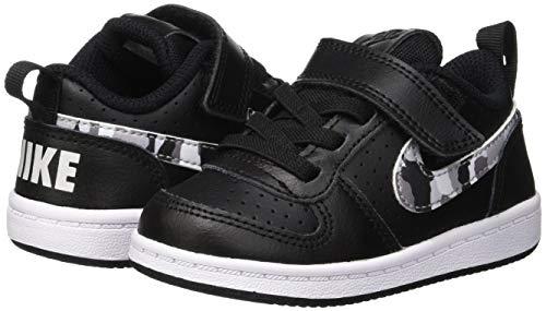 005 Borough Court Platinum tdv Nike Multicolore Pantofole – Bimbi 24 Low black Unisex 0 multi color pure white wTqqx5dH4