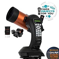 The best telescope is the one used often to enjoy the beauty and intrigue of the night sky. For those searching for telescopes for astronomy beginners that are infused with the latest computer technology, Celestron's NexStar 4SE Maksutov-Cass...
