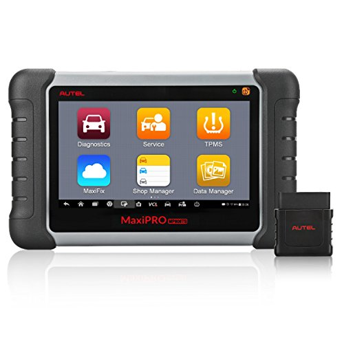 Autel MaxiPRO MP808TS Automotive Diagnostic scanner tool (Prime version of Maxisys MS906TS) combining Comprehensive TPMS Service Functionality and Advanced Diagnostics with Wireless Bluetooth by Autel
