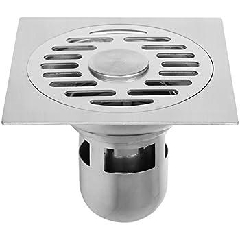 WEBI Shower Drain, Floor Drain -Squared, 4.7-Inches ...