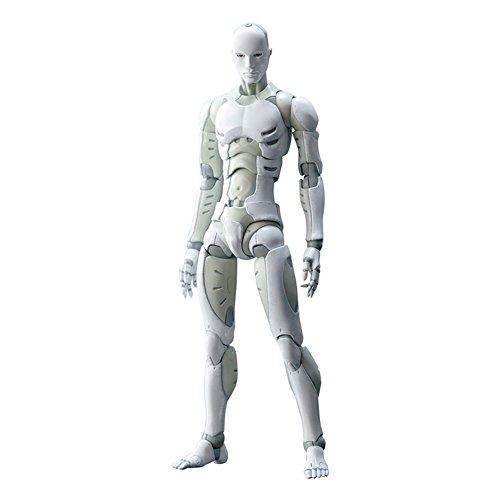 Finetoknow Action Figure Figure Body Model,Synthetic Human He Men Body Action Figure Figurine 1/12 Scale Play Toys