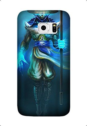 Samsung Galaxy S6 Edge Protective Case -Custom mortal kombat raiden mk Game pattern Unique Samsung Galaxy S6 Edge Case Design by [David Reed]