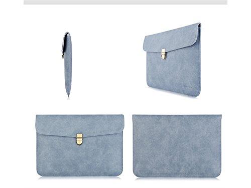 Yunqir Multi-functional 13 Inch PU Leather Handbag Tablet Laptop Bag Handbag Computer Inner Bag for Women and Men