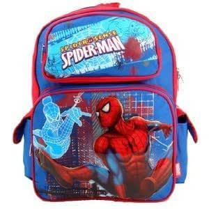 MARVEL SPIDERMAN LARGE BACKPACK - CITY PATROL