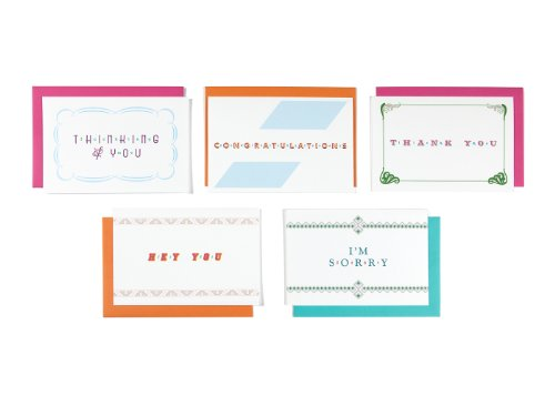 Pack Greeting 5 Cards (Lusty Letter - Good Anytime 5-pack of Positively Naughty Greeting Cards)