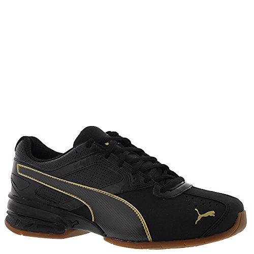 PUMA Women's Tazon 6 WN's FM Sneaker, Black Team Gold, 6.5 M US