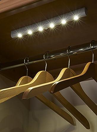 Artis - Tira de ledes súper brillantes para armarios con sensor de movimiento