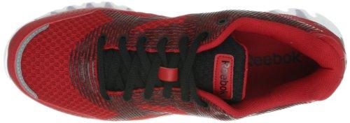 Reebok - Zapatos de cordones para hombre rojo