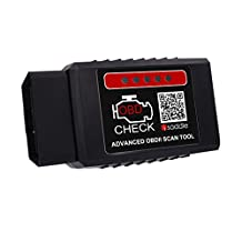 iSaddle SC-030 Advanced Bluetooth Obdii Scan Tool for Android Devices