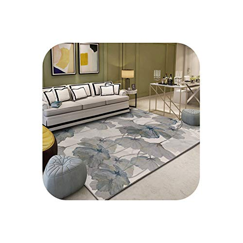 Fun-Store Nordic Abstract Flower Art Carpet for Living Room Bedroom Anti-Slip Large Rug Floor Mat Fashion Kitchen Carpets Area Rugs,S 2,60X90 ()