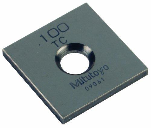 Gage Wear Block - Mitutoyo Tungsten Carbide Square Wear Gage Block, ASME Grade 0, 0.1