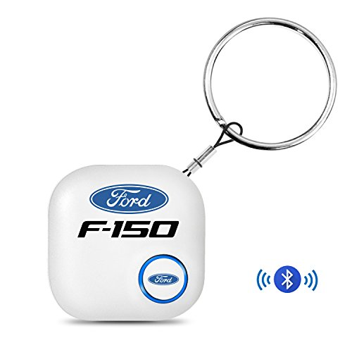 iPick Image Ford F-150 Key Chain Bluetooth Smart Key Finder, GPS Key Tracker Device, Phone Finder, iOS Android Compatible
