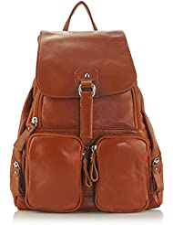 ZENTEII Women Genuine Leather Backpack