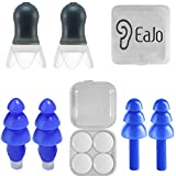 Best Ear Plugs For Sleeping Snorings - EaJo Noise Cancelling Plugs Silicone Ear Plugs Noise Review