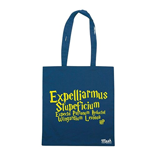 Borsa Expelliarmus Harry Potter - Verde Bottiglia - Film by Mush Dress Your Style