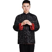 Shanghai Story Men's Jacket Chinese Kong Fu Reversible 2 Sides Shirt 6 Color
