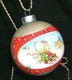 1980 Betsey Clark Glass Ball Hallmark Keepsake Ornament