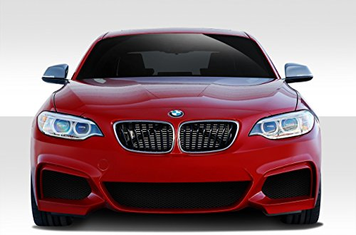 (Duraflex Replacement for 2014-2019 BMW 2 Series F22 M Sport Look Front Bumper Cover - 1 Piece)