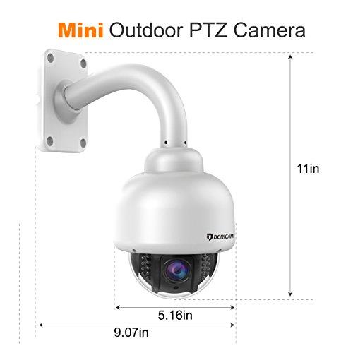 Dericam Outdoor Hd Wireless Security Camera Ptz System