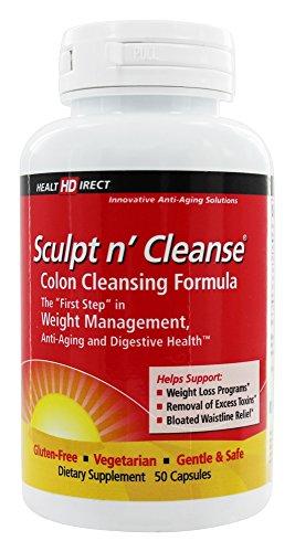 Health Direct Sculpt n' Cleanse Colon Cleansing Formula 450 mg.