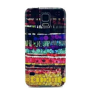 JJEBubble Carpet Pattern TPU Soft Case Cover for Samsung Galaxy S5 I9600