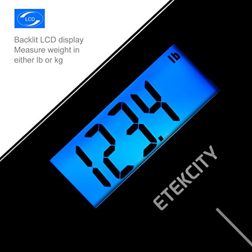 Etekcity-Digital-Body-Weight-Scale-with-Step-On-Technology-400-Pounds-Elegant-Black
