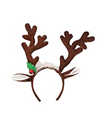 Christmas Hairband Reindeer Antlers Headband for Party Fancy Decoration