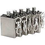 Etopstech Crazy Shopping 5pcs Metal Match Lighter Gas Oil Fire Starter Keychain for Camping Outdoor