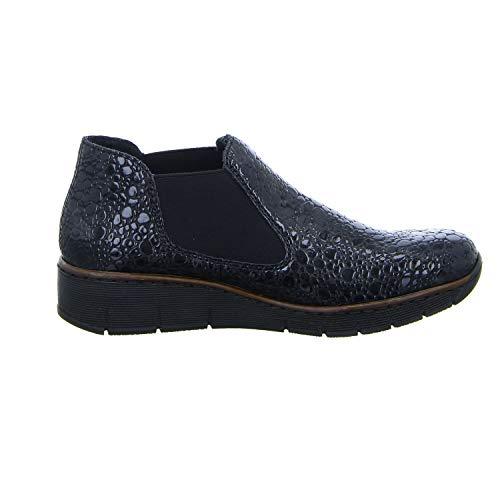 Women's Blau 45 Grey 53790 Blau Boots Ankle Granit 14 Rieker Kombi Rd4qwF4