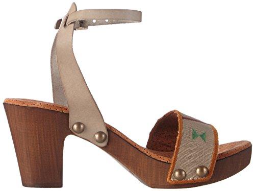 Bunker Sandal - Sandalias de tobillo Mujer Marrón - marrón (taupe)